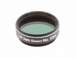 "Explore Scientific Dark Green N58A 1.25"" Filter"