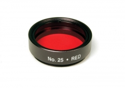 Levenhuk color filter red NO25, 1.25""